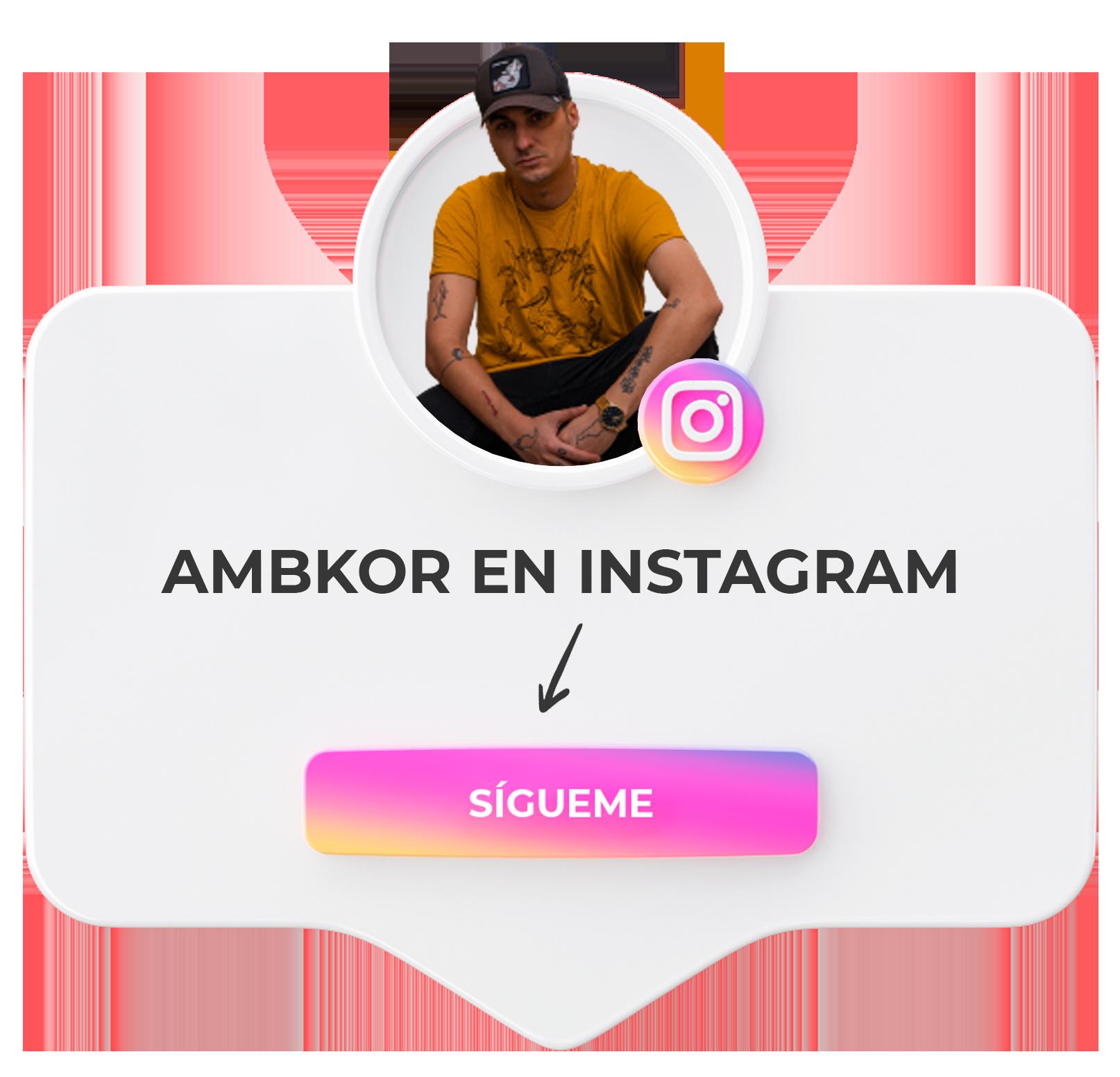 Ambkor en Instagram